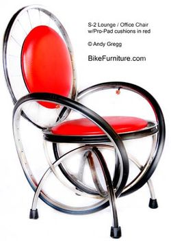 Bicycle Chair (www.bikefurniture.com)