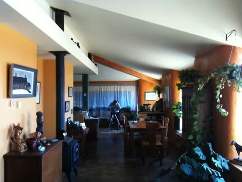 Interior from the living room