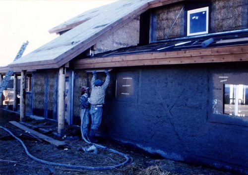 10d Stucco Application